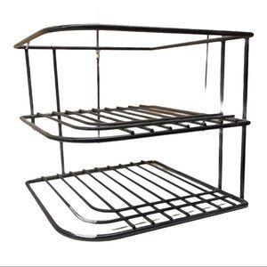 BOGO Free 2 stackable corner shelves NWOT